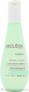 Decleor Aroma Cleanse Fresh Matifying Lotion 200ml - Combination/Oily Skin