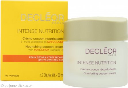 Decleor Intense Nutrition Nourishing Cocoon Cream with Marjoram Essential Oil 50ml - Dry to Very Dry Skin
