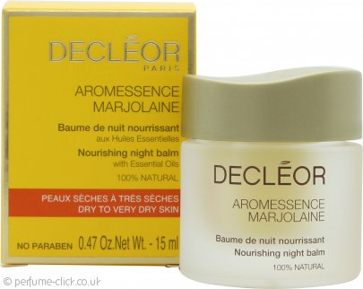 Decleor Aromessence Marjolaine Nourishing Night Balm 15ml Dry to Very Dry Skin