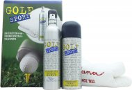 Dana Golf Sport Gift Set 200ml EDT + 200ml Deodorant Spray + Sports Towel