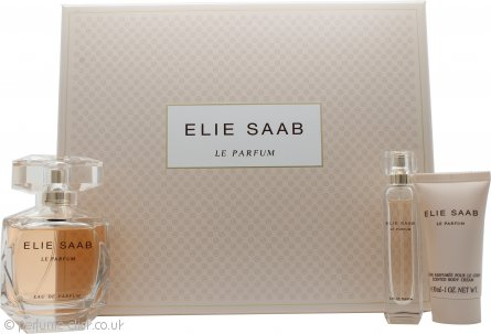 Elie Saab Le Parfum Gift Set 90ml EDT + 30ml Body Lotion + 10ml EDT