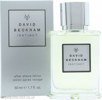 David Beckham Instinct Aftershave 50ml Splash