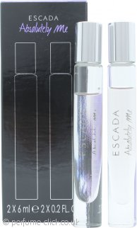 Escada Absolutely Me Gift Set 2 x 6ml EDP Roll On