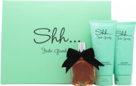 Jade Goody Shh Gift Set 50ml EDP Spray + 100ml Body Lotion + 100ml Bath & Shower Gel
