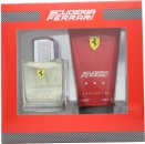 Ferrari Scuderia Ferrari Red Gavesæt 75ml EDT Spray + 150ml Hair & Body Wash