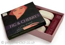 Berkeley Square Fig & Cherry Soap 3x 100g