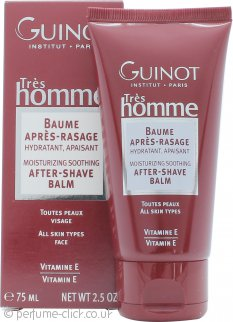 Guinot Trés Homme Moisturising & Soothing After Shave Balm 75ml