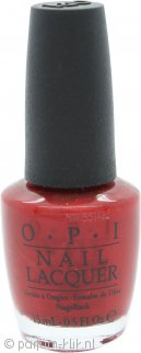OPI Germany Nail Lacquer 15ml Danke-Shiny Red