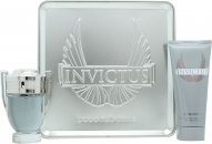 Paco Rabanne Invictus Gift Set 50ml EDT + 100ml All Over Shampoo