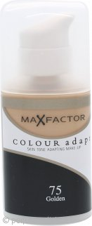 Max Factor Colour Adapt Foundation 34ml - #75 Golden