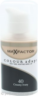 Max Factor Colour Adapt Foundation 34ml - #40 Creamy Ivory