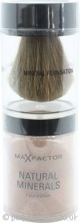 Max Factor Natural Minerals Foundation 10g Caramel 85