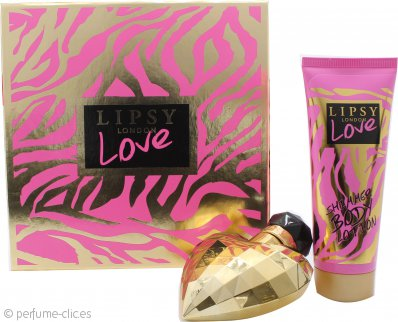 Lipsy Love Set de Regalo 50ml EDT + 75ml Brillo Corporal