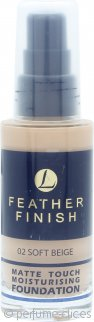 Lentheric Feather Finish Base Hidratante Toque Mate 30ml – Beige Suave 02
