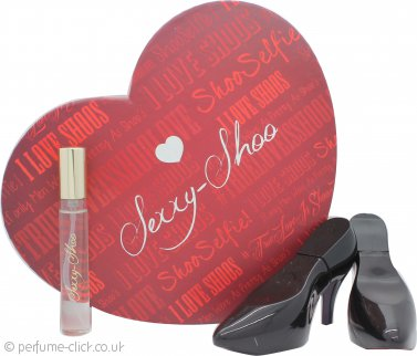 Laurelle Sexxy Shoo Black Stiletto Gift Set 2 x 30ml EDP Spray + 15ml EDP Spray