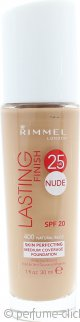 Rimmel Lasting Finish Nude Foundation 30ml - Natural Beige 400