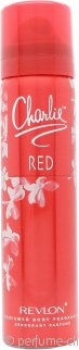Revlon Charlie Red Body Spray 75ml