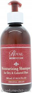 Royal Moroccan Moisturizing Shampoo 10.1oz (300ml) - Dry & Colored Hair
