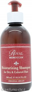 Royal Moroccan Shampoo Idratante 300ml - Capelli Secchi & Colorati