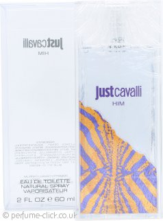 Roberto Cavalli Just Cavalli Him Eau de Toilette 60ml Spray
