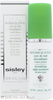 Sisley Botanical D-Tox Detoxifying Night Treatment 30ml - All Skin Types