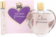 Vera Wang Princess Gift Set - 50ml EDT + 75ml Body Lotion + 75ml Foamy Body Polish + 4ml EDP