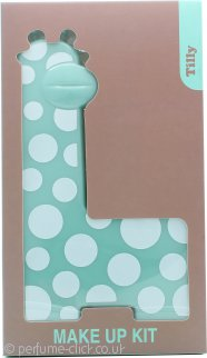 Tilly Giraffe Make-Up Kit - 18 x Eyeshadow + 2 x Blush + 3 x Lipgloss + 2 x Applicator