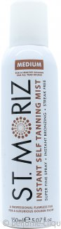 St Moriz Self Tan Range Instant Self Tanning Mist 150ml Medium