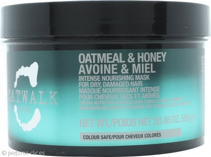 Tigi Catwalk Oatmeal & Honey Crema Nutritiva Intensa 580g