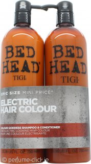 Tigi Duo Pack Bed Head Colour Goddess 750ml Shampoo + 750ml Conditioner