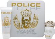 Police To Be The Queen Geschenkset 75ml EDT + 100ml Body Lotion