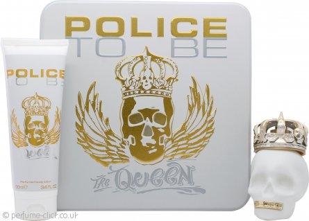 Police To Be The Queen Gift Set 75ml EDT + 100ml Body Lotion