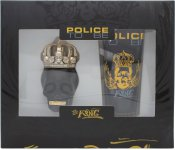 Police To Be The King Gift Set 40ml EDT Spray + 100ml All Over Body Shampoo