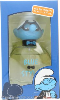 The Smurfs Blue Style Brainy Eau de Toilette 50ml Spray