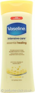 Vaseline Essential Moisture Body Lotion 400ml - Dry Skin