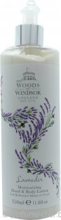 Woods of Windsor Lavender Hand & Body Lotion 350ml