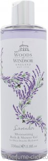 Woods of Windsor Lavender Moisturising Bath & Shower Gel 350ml