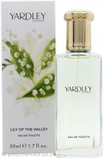 Yardley Lily of the Valley Eau de Toilette 50ml Spray