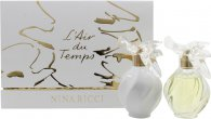 Nina Ricci L'air Du Temps Set de Regalo 50ml EDT + 100ml Crema de cuerpo