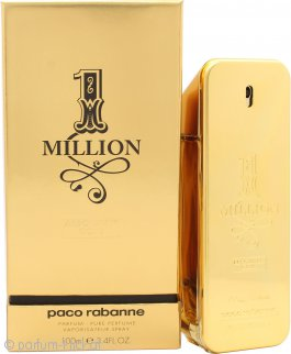 Paco Rabanne 1 Million Absolutely Gold Pure Perfume 100ml Spray