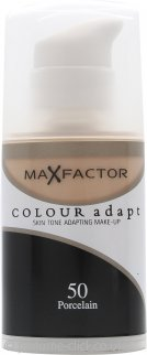 Max Factor Colour Adapt Foundation 34ml - #50 Porcelain