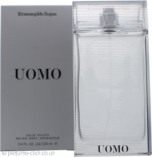 Ermenegildo Zegna Uomo Eau de Toilette 100ml Spray