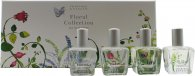 Crabtree & Evelyn Floral Collection Gift Set 4 x 15ml EDT Spray - Rosewater + Lavender + Iris + Lily