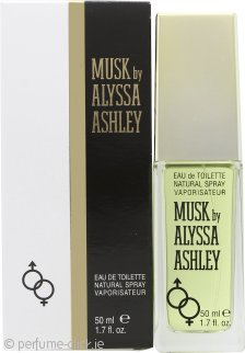 Alyssa Ashley Musk Eau de Toilette 50ml Spray