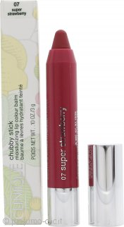 Clinique Chubby Stick Balsamo Colorato Idratante per le Labbra 07 Super Strawberry