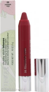 Clinique Chubby Stick Intense Balsamo Colorato Idratante per le Labbra 3g - Roomiest Rose