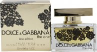 Dolce & Gabbana The One Lace Edition Eau de Parfum 50ml Vaporizador