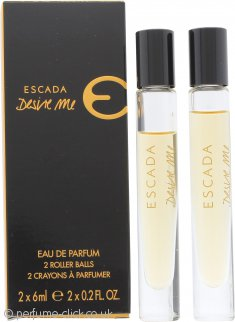 Escada Desire Me Gift Set 2 x 6ml EDP Roll On