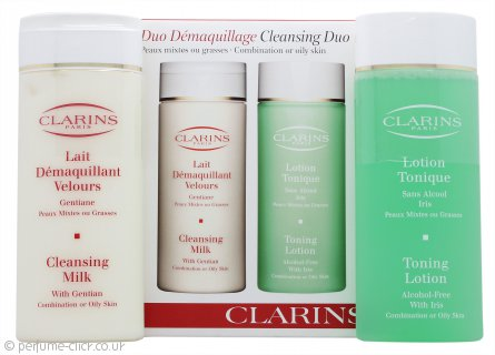 Clarins Cleansing and Toning Duo Pack - Combination/Oily Skin 2 x 200ml