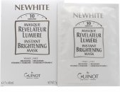 Guinot Newhite Masque Revelateur Lumiere Set de Regalo Máscara Brillo Instantáneo 7 x 40ml